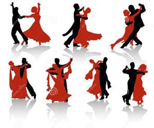 art, pair, and ballroom image