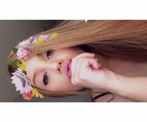 beauty, snapchat, and girl image