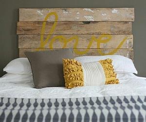 bed, headboard, and bedroom image