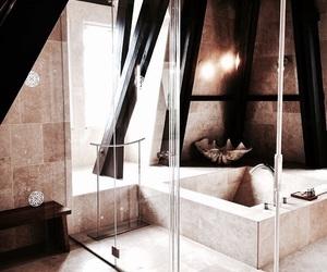 bath, interior, and shower image