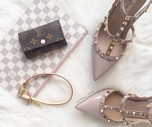 shoes, Valentino, and LV image