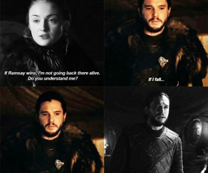 brothers, stark, and game of thrones image
