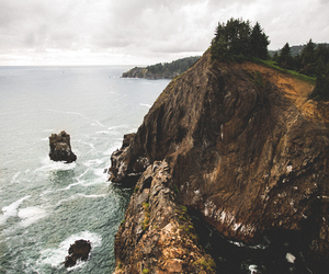 adventure, cliff, and nature image