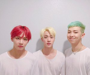 jin, maknae, and j-hope image