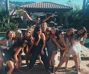 selena gomez, instagram, and friends image