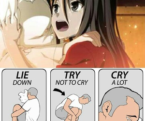 anime, funny, and japanese image