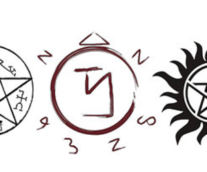 supernatural, wallpaper, and winchester image