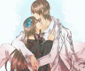 couple, vampire knight, and anime image