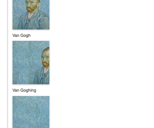 funny, tumblr, and van gogh image