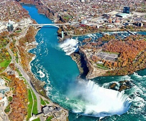 nature, niagara, and travel image