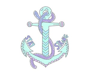 anchor, blue, and overlay image