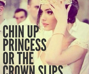 princess, quotes, and crown image
