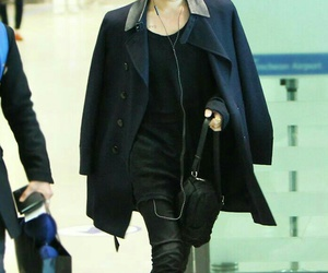 jaejoong, kpop, and airport fashion image