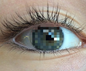 eyes, aesthetic, and eyelashes image