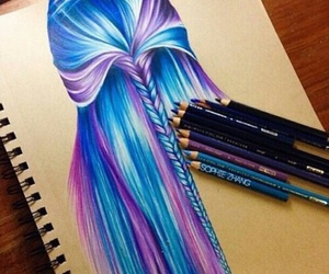blue, purple, and colors image