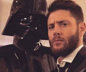 Jensen Ackles, supernatural, and darth vader image