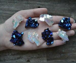 crystal and hand image
