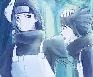 itachi, sasuke, and anbu image
