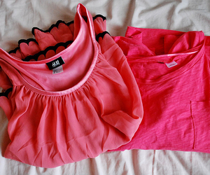 pink, fashion, and H&M image