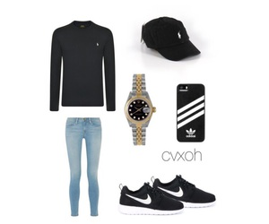 adidas, rolex, and polo ralph lauren image
