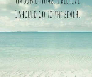beach, believe, and summer image