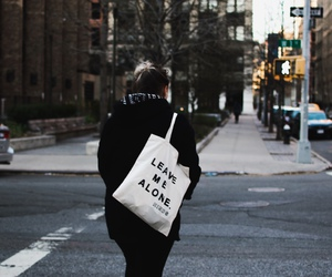 alone, leave, and new york image