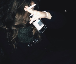 grunge, alcohol, and cigarette image