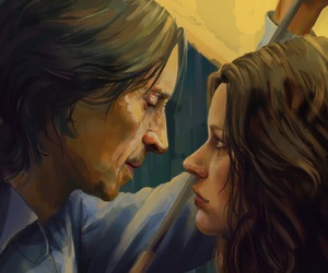 Emilie de Ravin, once upon a time, and robert carlyle image