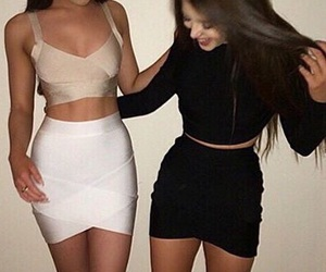 friends, goals, and outfit image