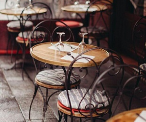 cafe, paris, and photography image