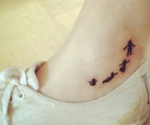 tattoo, peter pan, and disney image