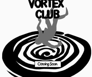black, vortex, and white image