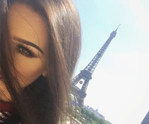 girl and paris image