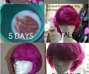 wig and cosplay image