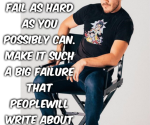 fail, failure, and quote image