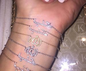 beautiful, jewelry, and makeup image