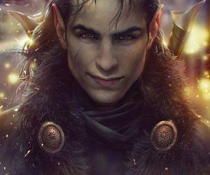 elf, fantasy, and hair image