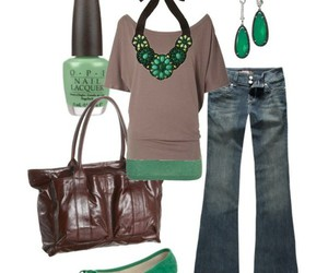 mint green and outfit image