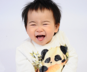 baby, panda, and cutebaby image