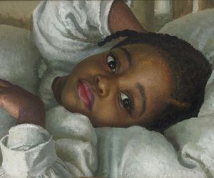art, painting, and lill girl image