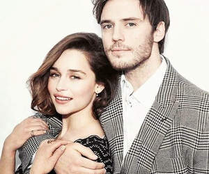 sam claflin, me before you, and emilia clarke image