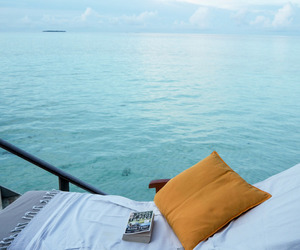 relax, summer, and sea image
