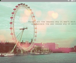 quotes, believe, and london image