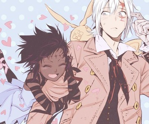anime, d.gray-man, and allen walker image