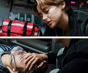 couple, hazel, and the fault in our stars image