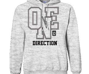 one direction, hoodie, and 1d image