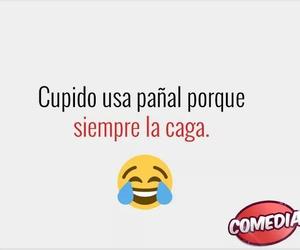 amor, cupido, and humor image