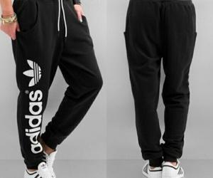 adidas, black, and pans image