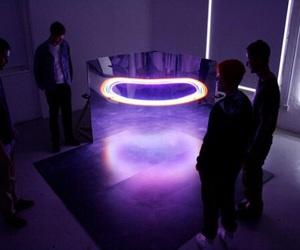 purple, grunge, and light image