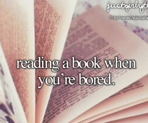 book, just girly things, and bored image